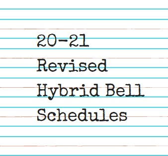 20-21 Revised Hybrid Bell Schedules